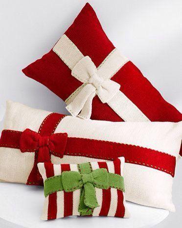Artesanato enfeites natal tecido almofada
