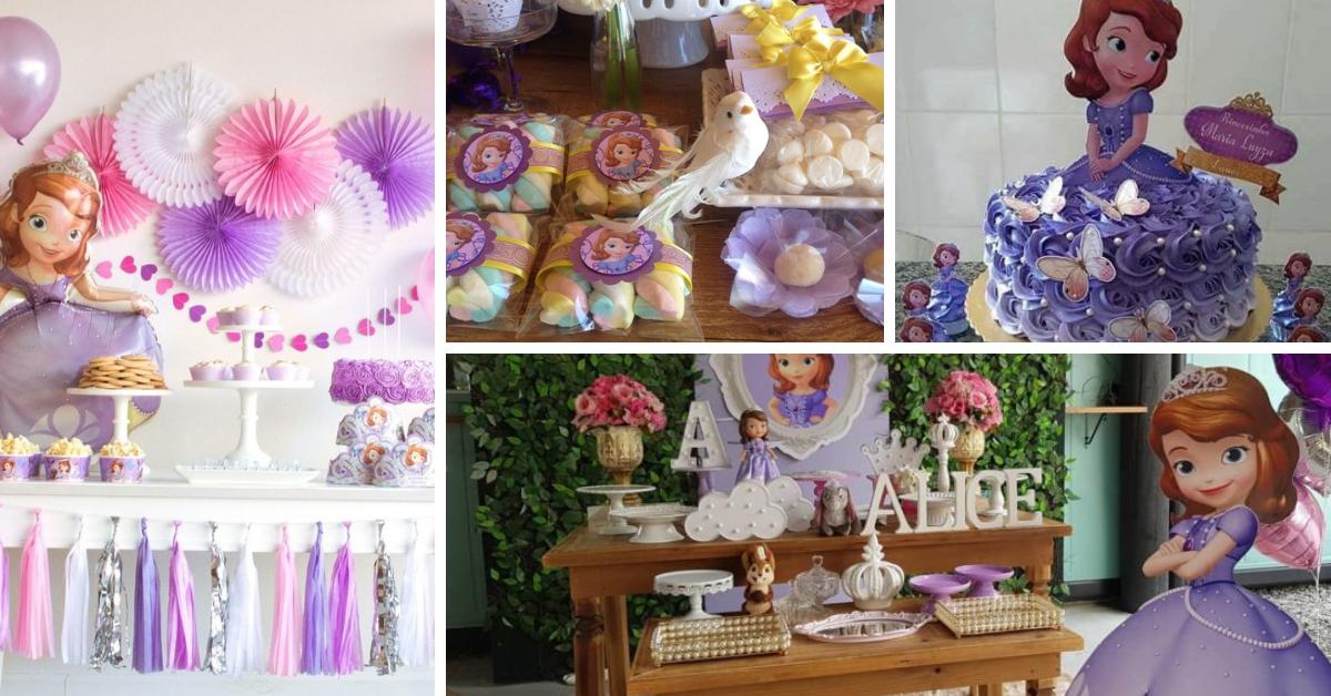 Festa Princesa Sofia Decoracao ideias