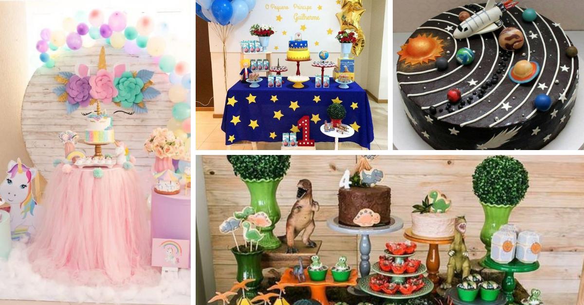 Temas para Festas de Criancas
