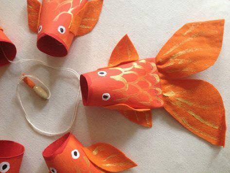 animais feitos com rolos de papel higienico 1