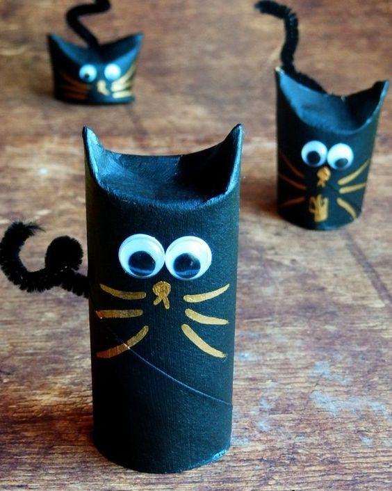 animais feitos com rolos de papel higienico 12