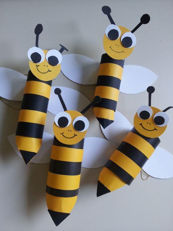 animais feitos com rolos de papel higienico 4