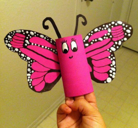 animais feitos com rolos de papel higienico 8