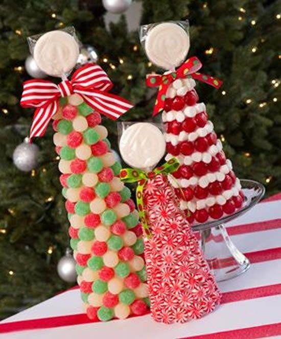 arvore Natal balas coloridas