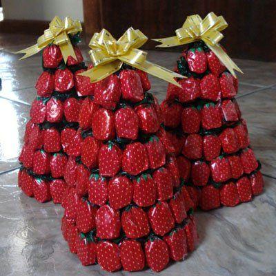 arvore Natal balas rebucados