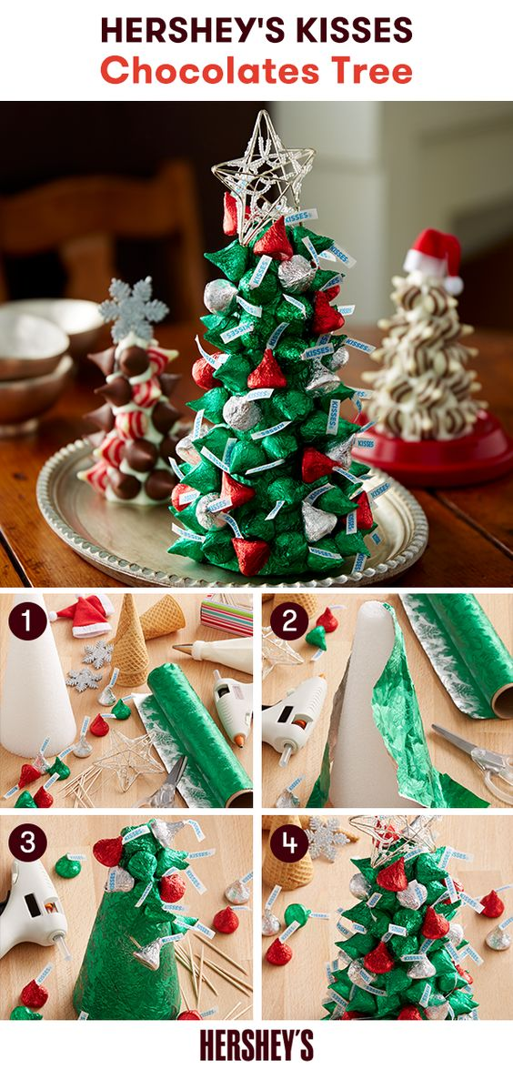 arvore Natal doces chocolates