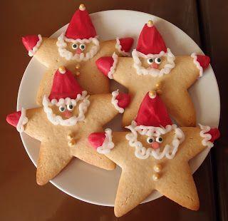 biscoito natal papai noel 1