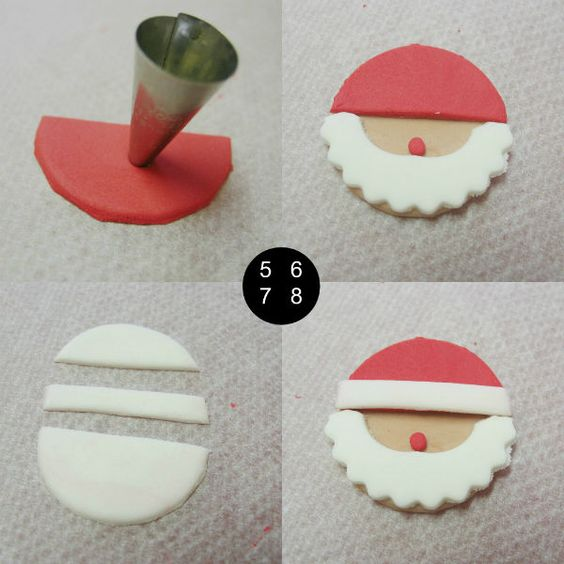 biscoito natal papai noel 10