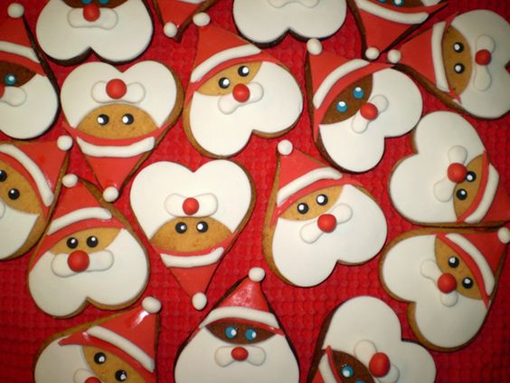 biscoito natal papai noel 5