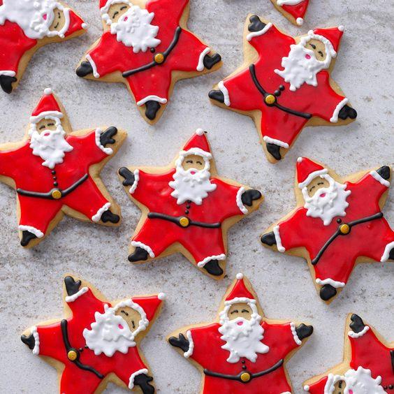 biscoito natal papai noel 6