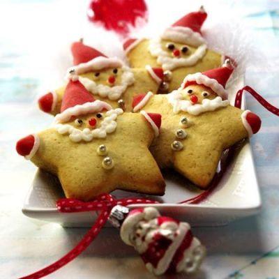 biscoito natal papai noel 7