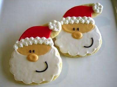 biscoito natal papai noel 8