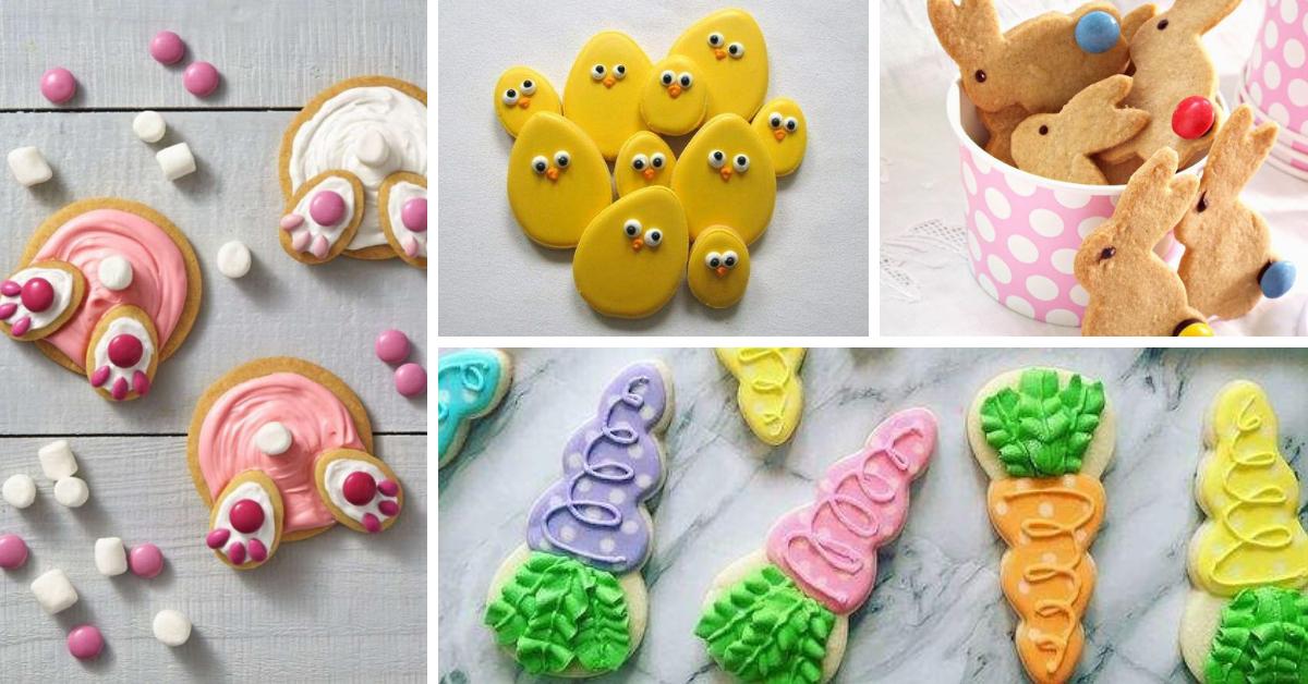 biscoitos para a pascoa