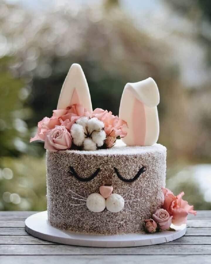 bolo decorado pascoa 1