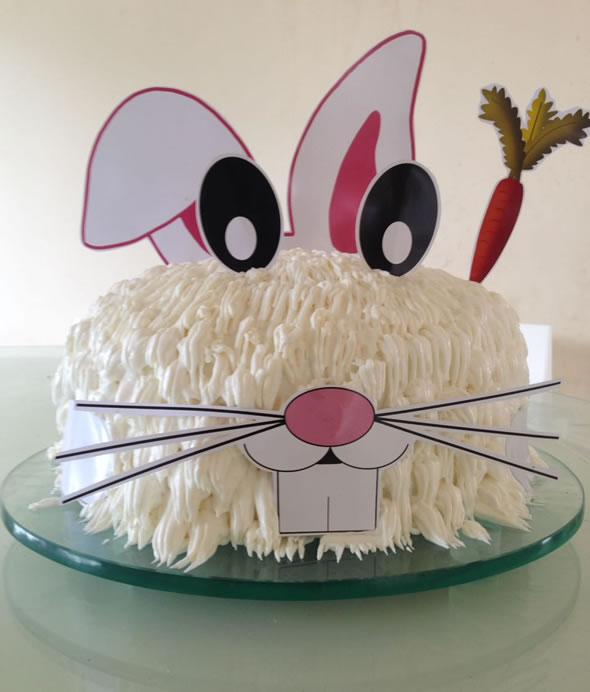 bolo decorado pascoa coelho 1