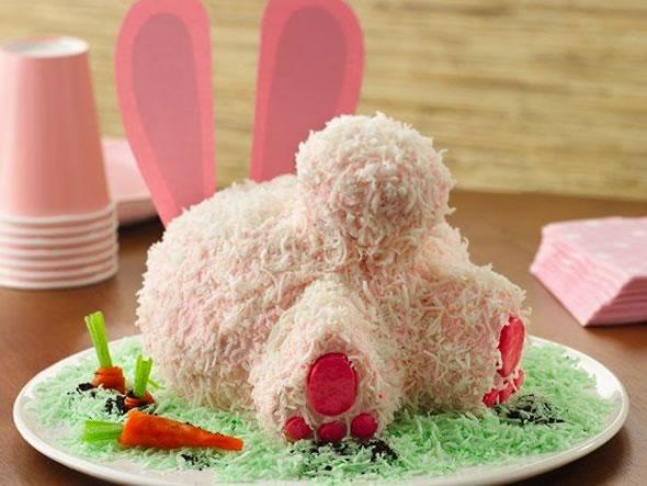 bolo decorado pascoa coelho 2
