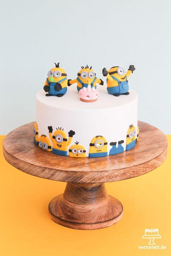 bolo festa minions original