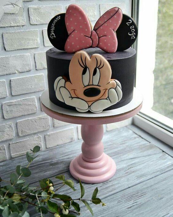 bolos decorados festa minnie 1