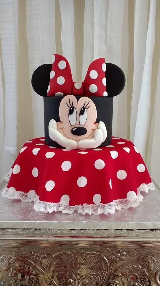 bolos decorados festa minnie 2