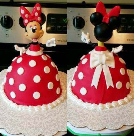 bolos decorados festa minnie 3