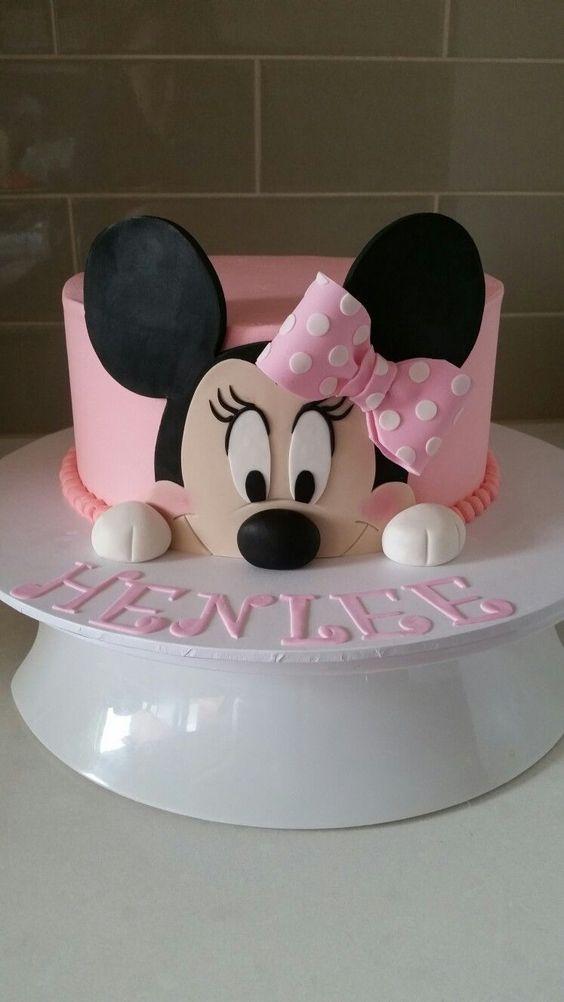 bolos decorados festa minnie 5