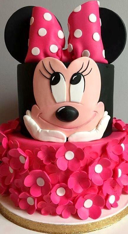 bolos decorados festa minnie 6