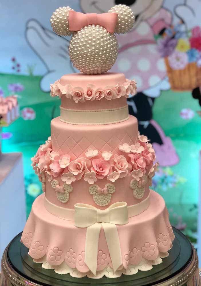 bolos decorados festa minnie 7
