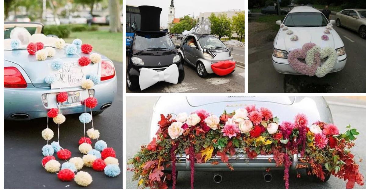 decoracao carro para o casamento