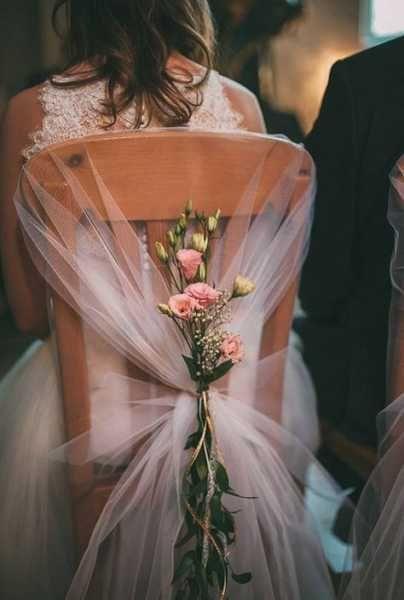 decoracao casamento simples cadeiras