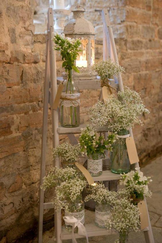 decoracao casamento simples flores