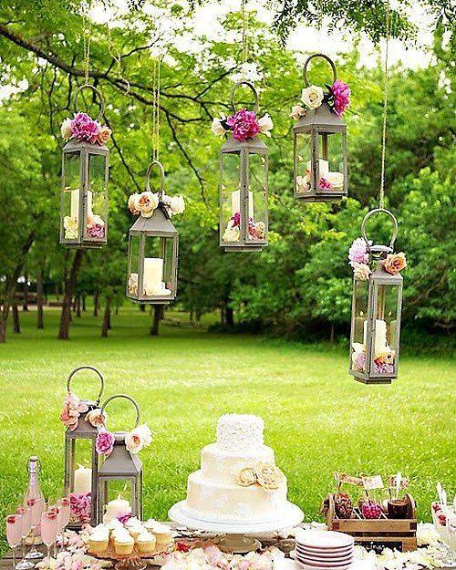 decoracao casamento simples mesa bolo ideias