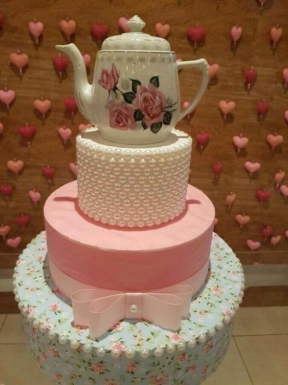 decoracao cha panela bolo