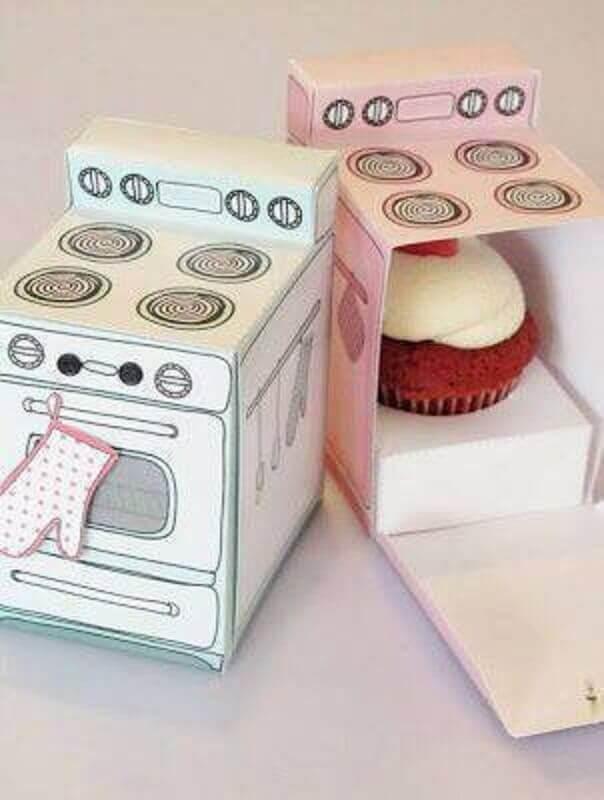 decoracao cha panela cupcake