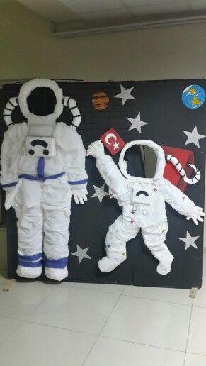 decoracao dia pais painel astronauta