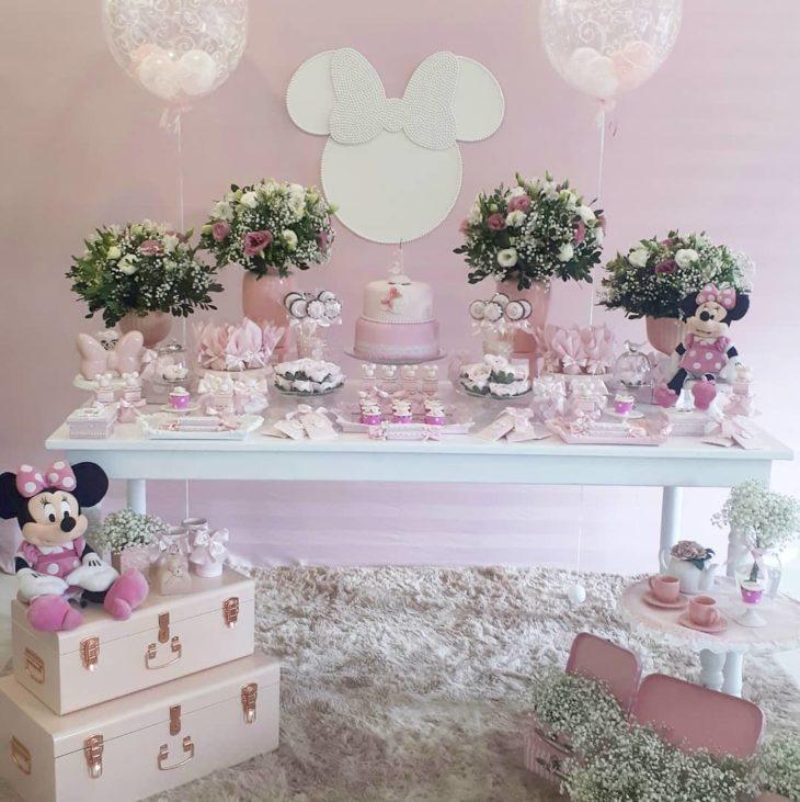 decoracao festa minnie rosa 2