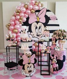 decoracao festa minnie rosa 3