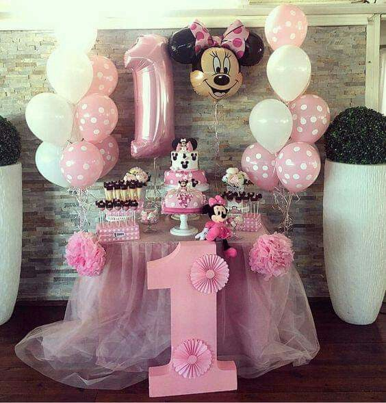 decoracao festa minnie rosa 6