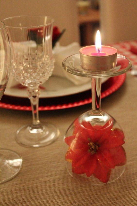 decoracao jantar romantico