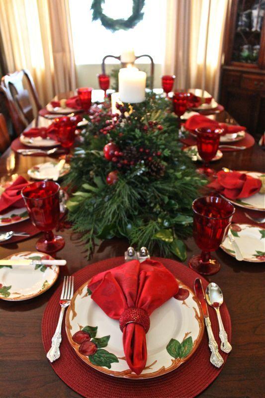 decoracao mesa natal ideias 1