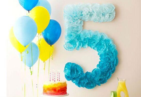 decoracao papel crepom festa ideias 3