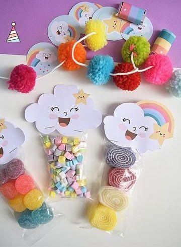 diy decoracao festa chuva amor doces