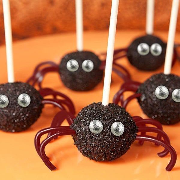 doces halloween aranha
