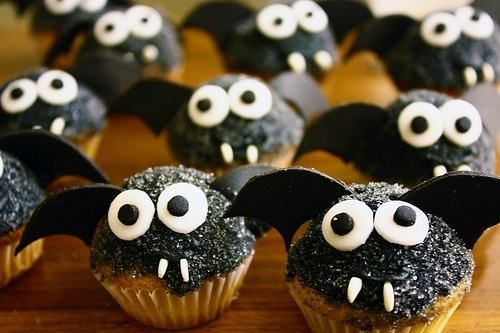 doces halloween morcegos