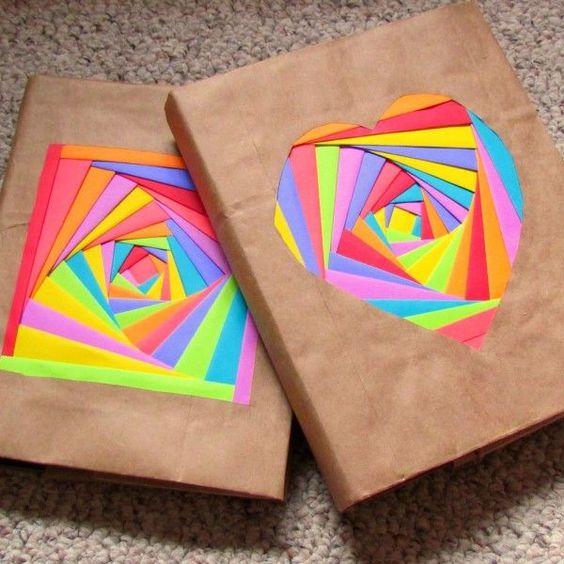 embrulho natal papel liso colorido