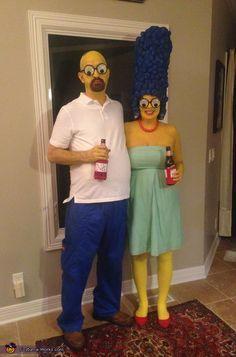 fantasia halloween casais criativos