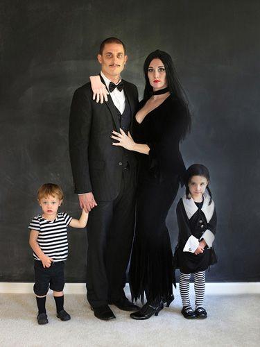 fantasia halloween familia adams