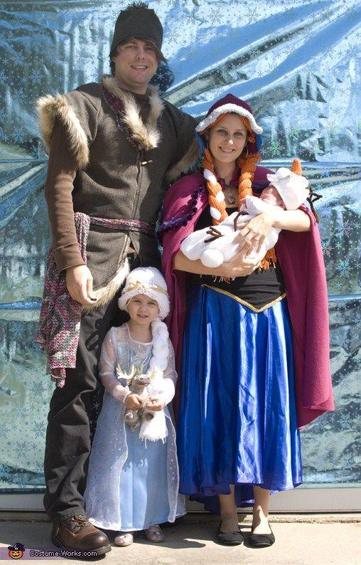 fantasia halloween familia frozen