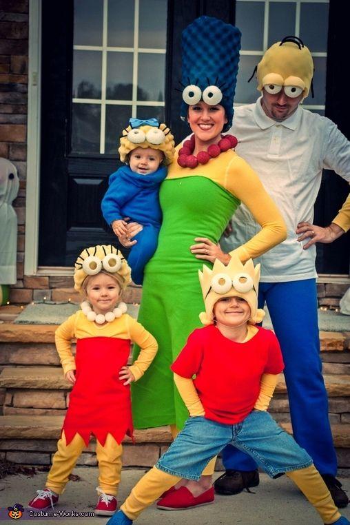 fantasia halloween familia simpsons