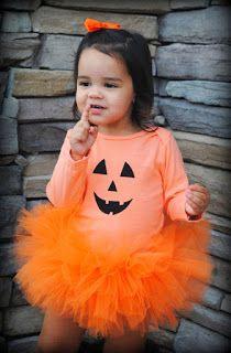 fantasia halloween infantil abobora