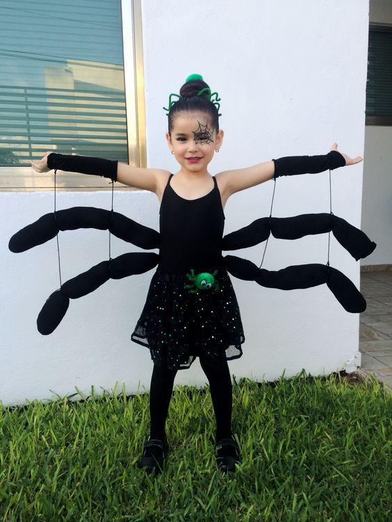 fantasia halloween infantil aranha